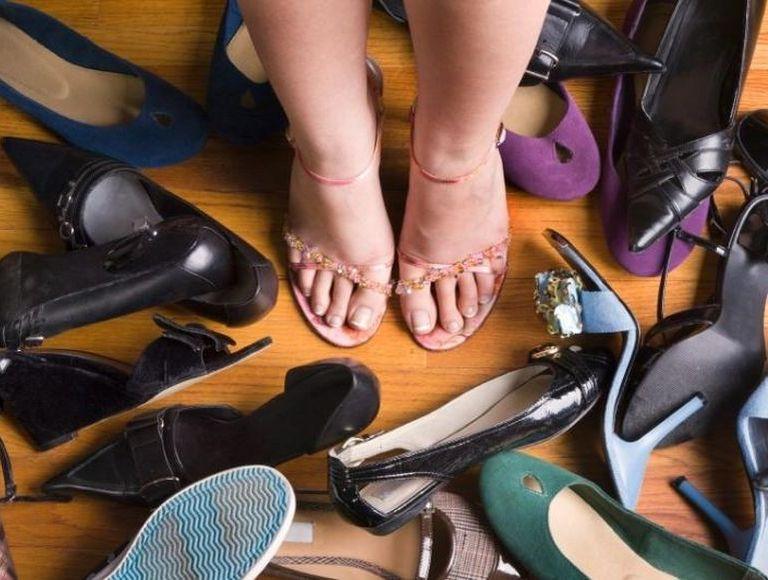 Туфли на полную ногу